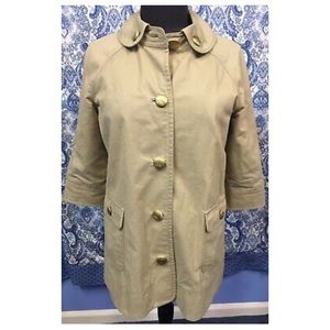 Juicy couture trench coat S